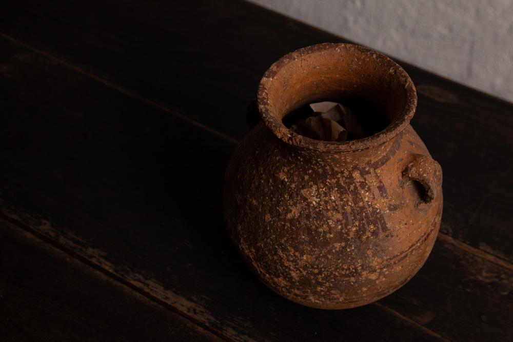 Antique,Vintage,アンティーク,ヴィンテージ,家具,雑貨,耳付き,壺,土器,モロッコ