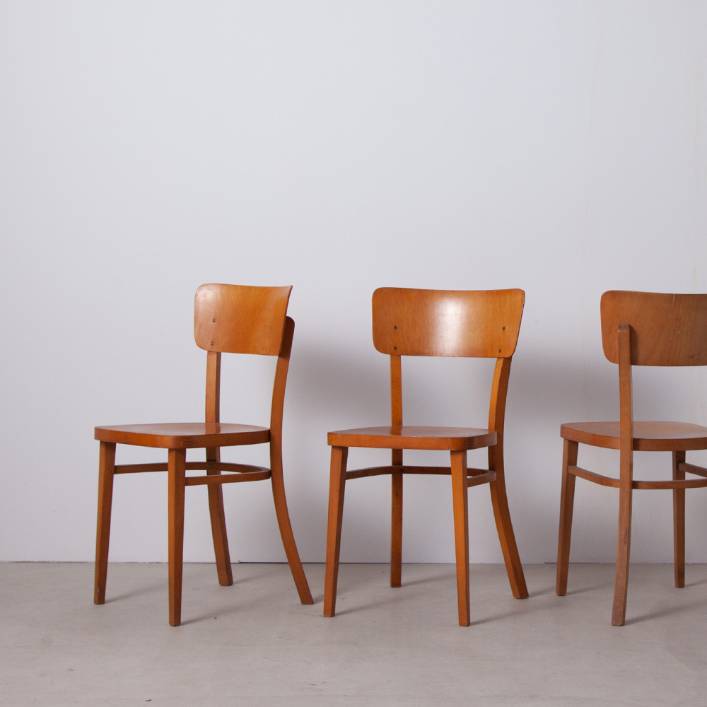 Bistro Clear Beech THONET Chairs