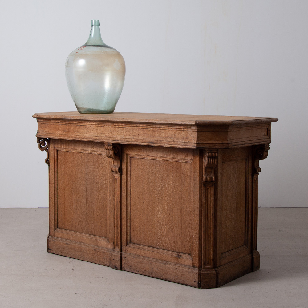 French Oak Reception Counter