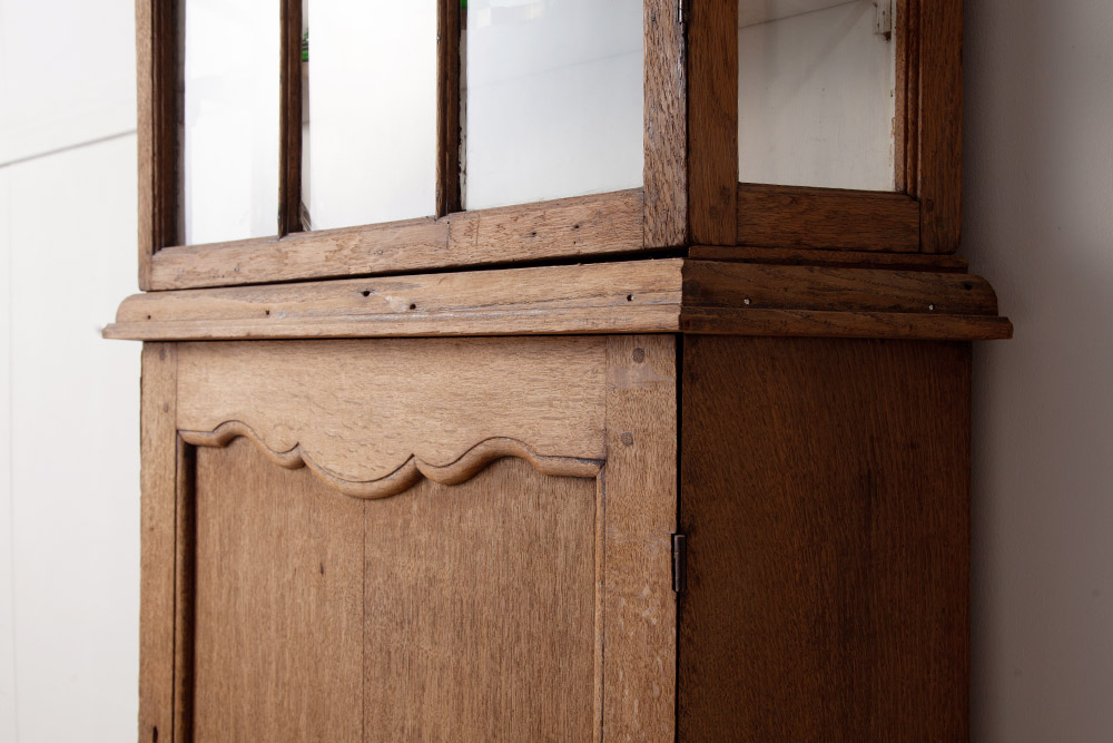 オーク,カップボード,アンティークカップボード,アンティーク棚,アンティークシェルフ,アンティーク食器棚,食器棚,ガラス棚,木製,アンティーク,ヴィンテージ,清澄白河,stoop,antique,vintage