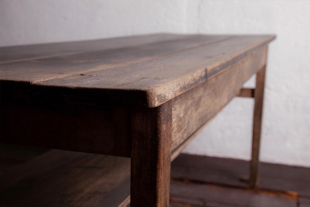 アンティークテーブル,アンティークロングテーブル,Antique,Vintage,アンティーク,ヴィンテージ,家具,雑貨,日本,テーブル,オーク,大正時代,無塗装