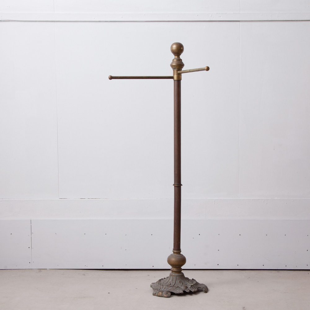 Brass Hanger Rack Stand