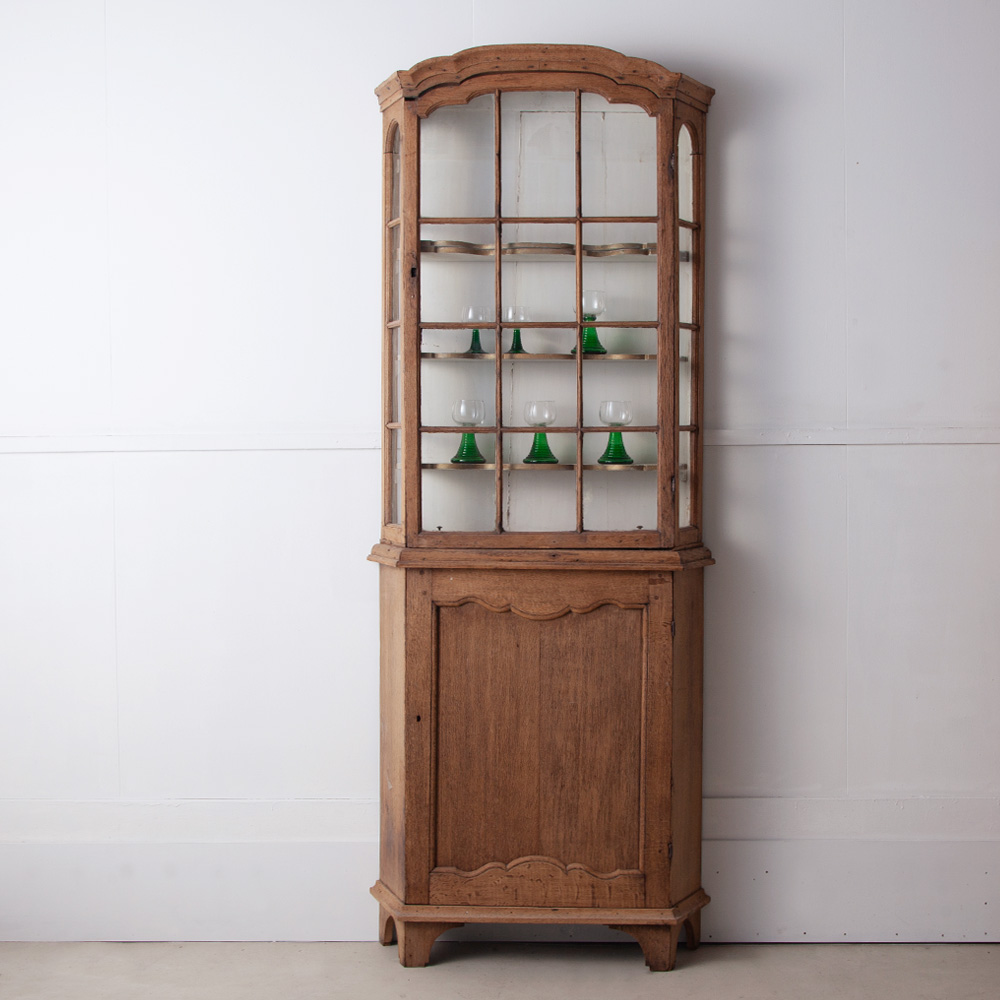 19th Century Dutch Glass Cupboard