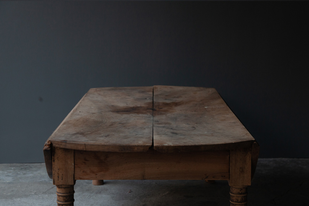 アンティーク,テーブル,ローテーブル,オーク,ANTIQUE,家具,stoop,清澄白河