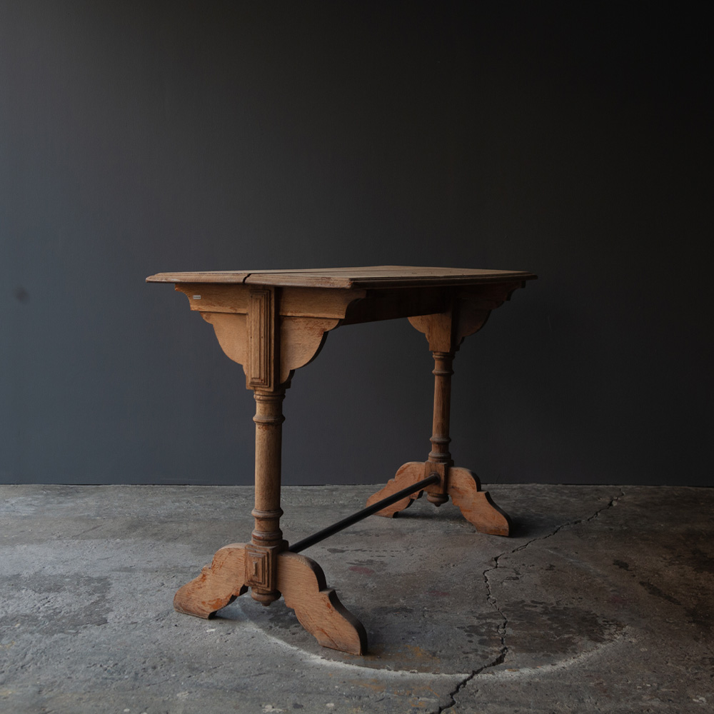 France Oak Small Table