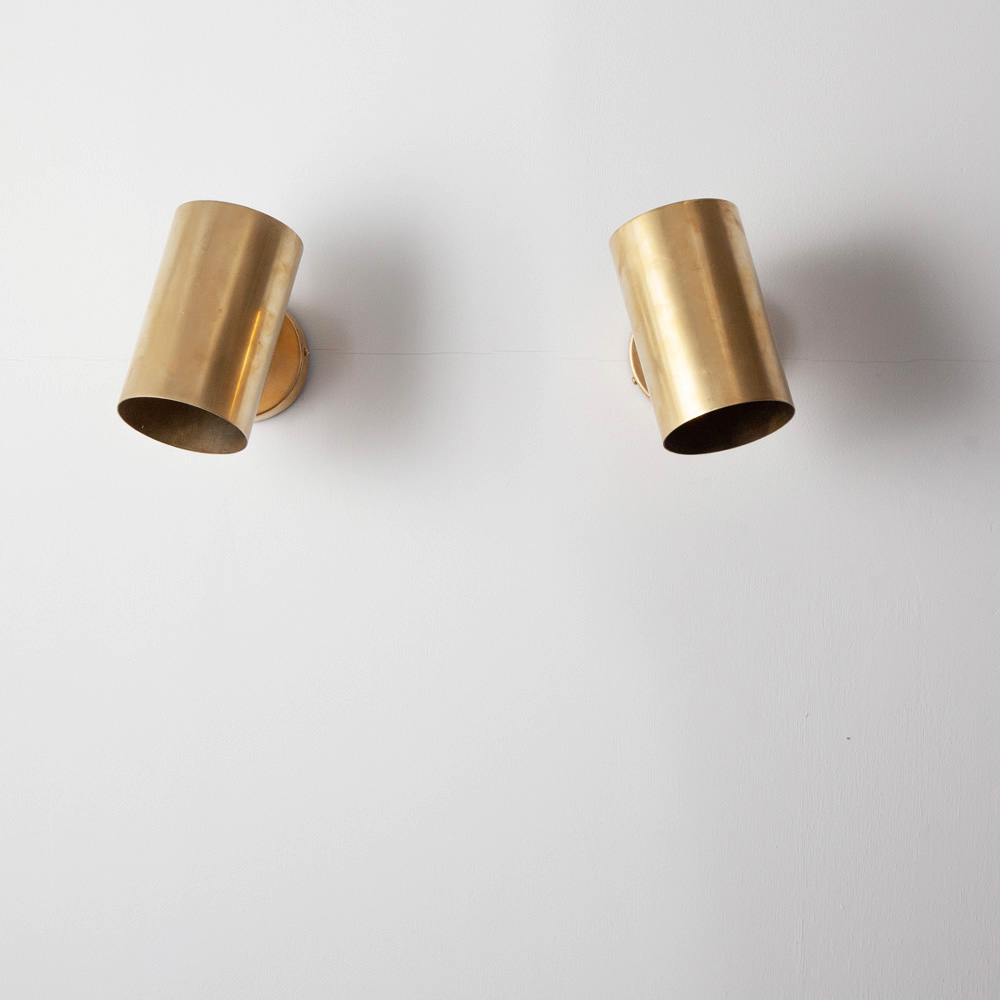 Adjustable Wall Light by Parscot in Brass