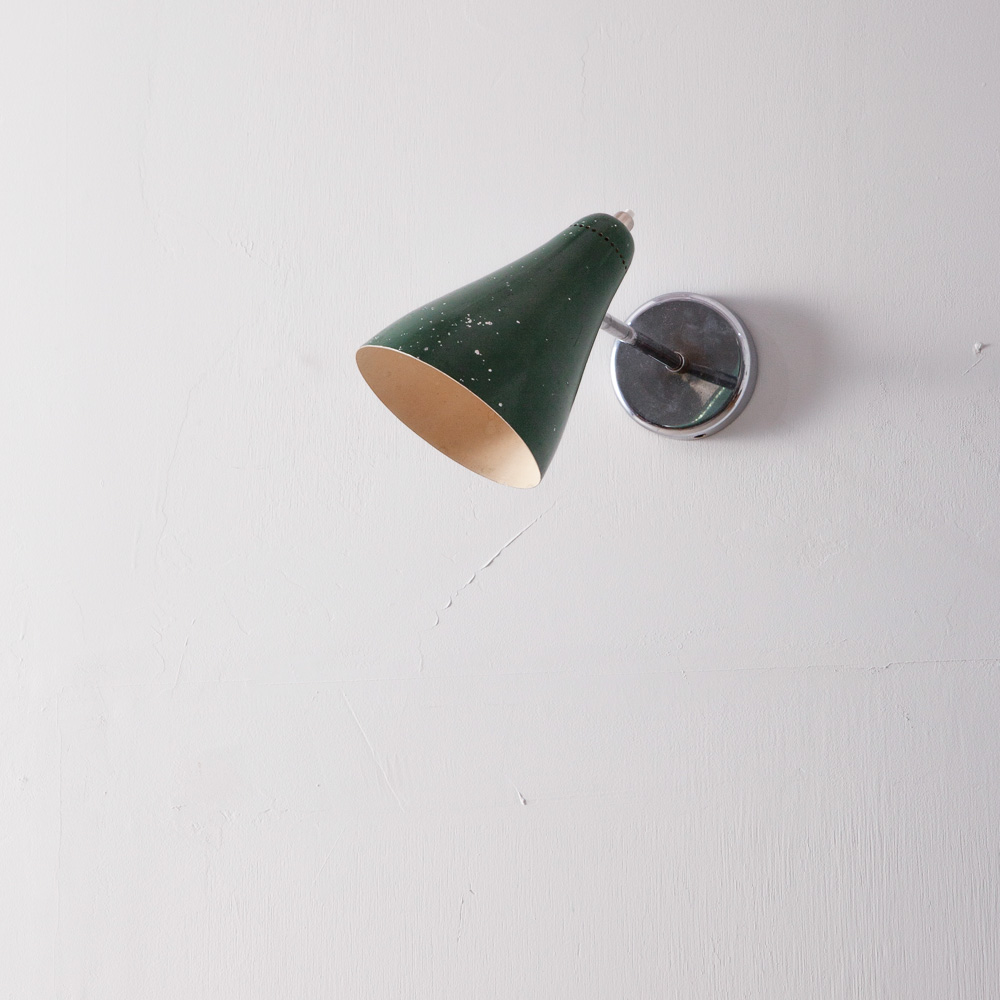 Wall Light by Giuseppe Otsuni in Green
