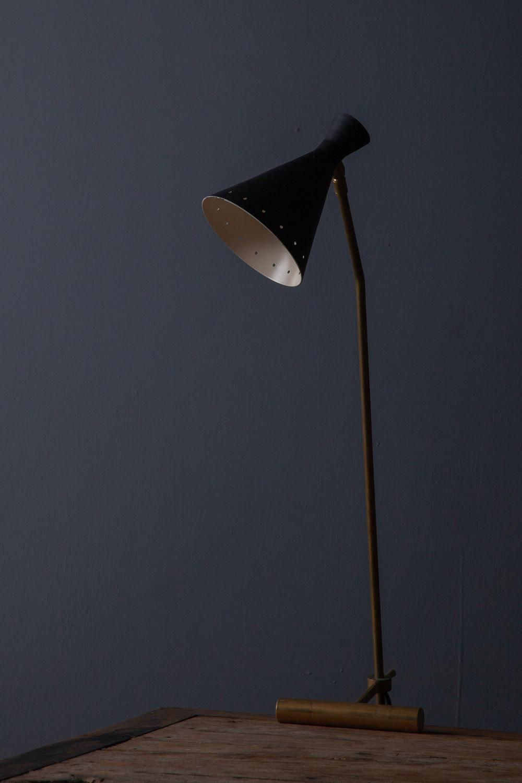 清澄白河,アンティークショップ,Antique,Vintage,アンティーク,ヴィンテージ,家具,椅子,ベルギー,真鍮,Mid-Century,ミッドセンチュリー,ライト,ビンテージ,ヴィンテージ,スティルノボ,照明,デスクライト,卓上ライト,黒,真鍮