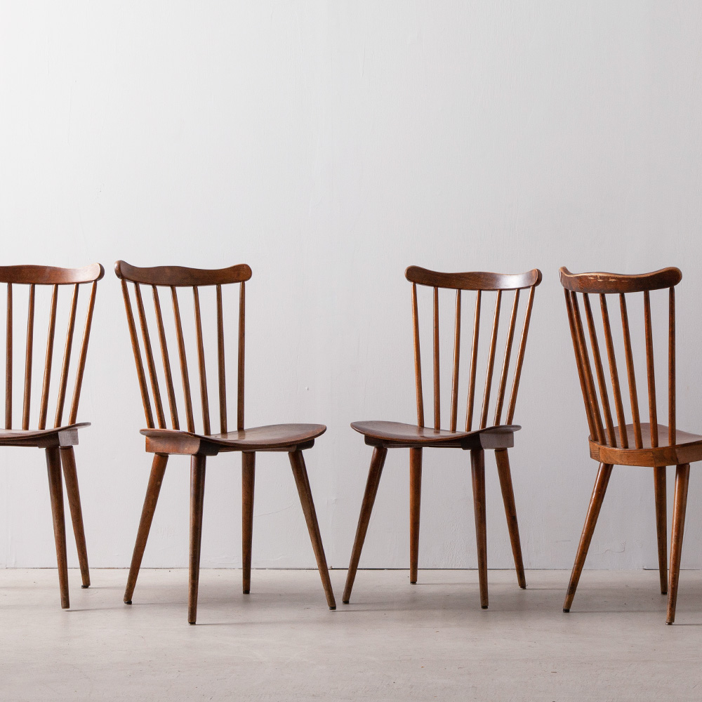 Windsor Spokeback Cafe Chairs for BAUMANN