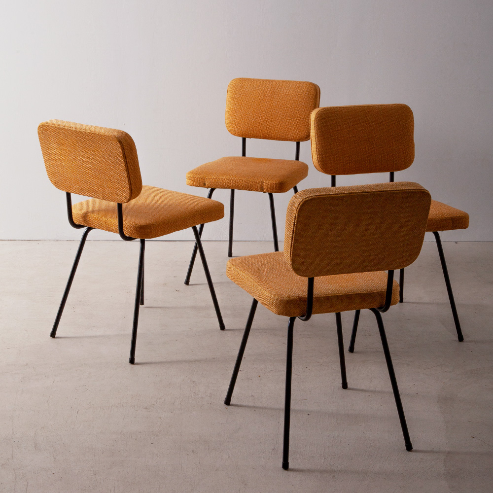 French Dining Chair by André Simard for Airborne