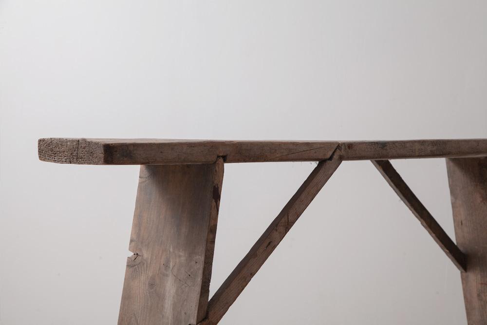 ディスプレイ台,アンティークテーブル,清澄白河,アンティークショップ,Antique,Vintage,アンティーク,ヴィンテージ,家具,椅子,フランス,ベルギー,ロングテーブル,ダイニングテーブル,店舗什器,ディスプレイ,天板
