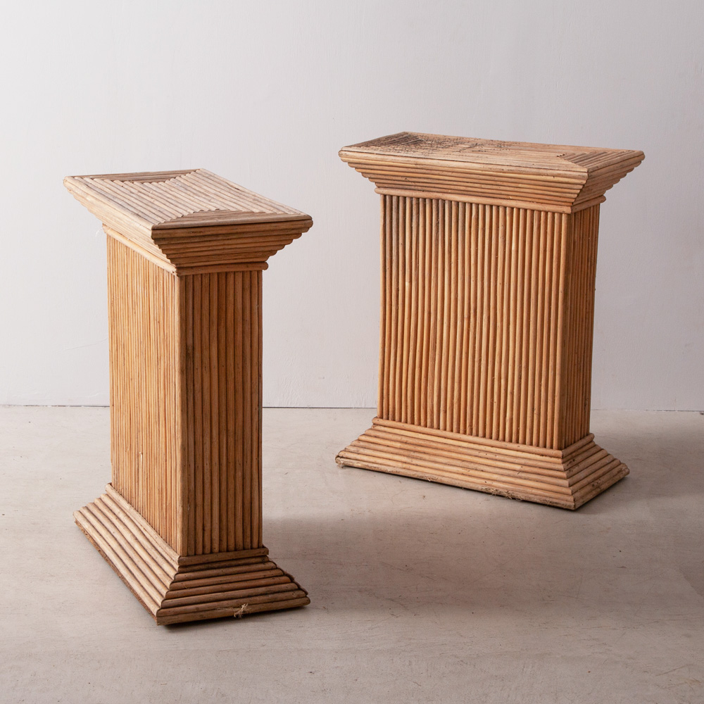 French Vintage Bamboo Table Legs