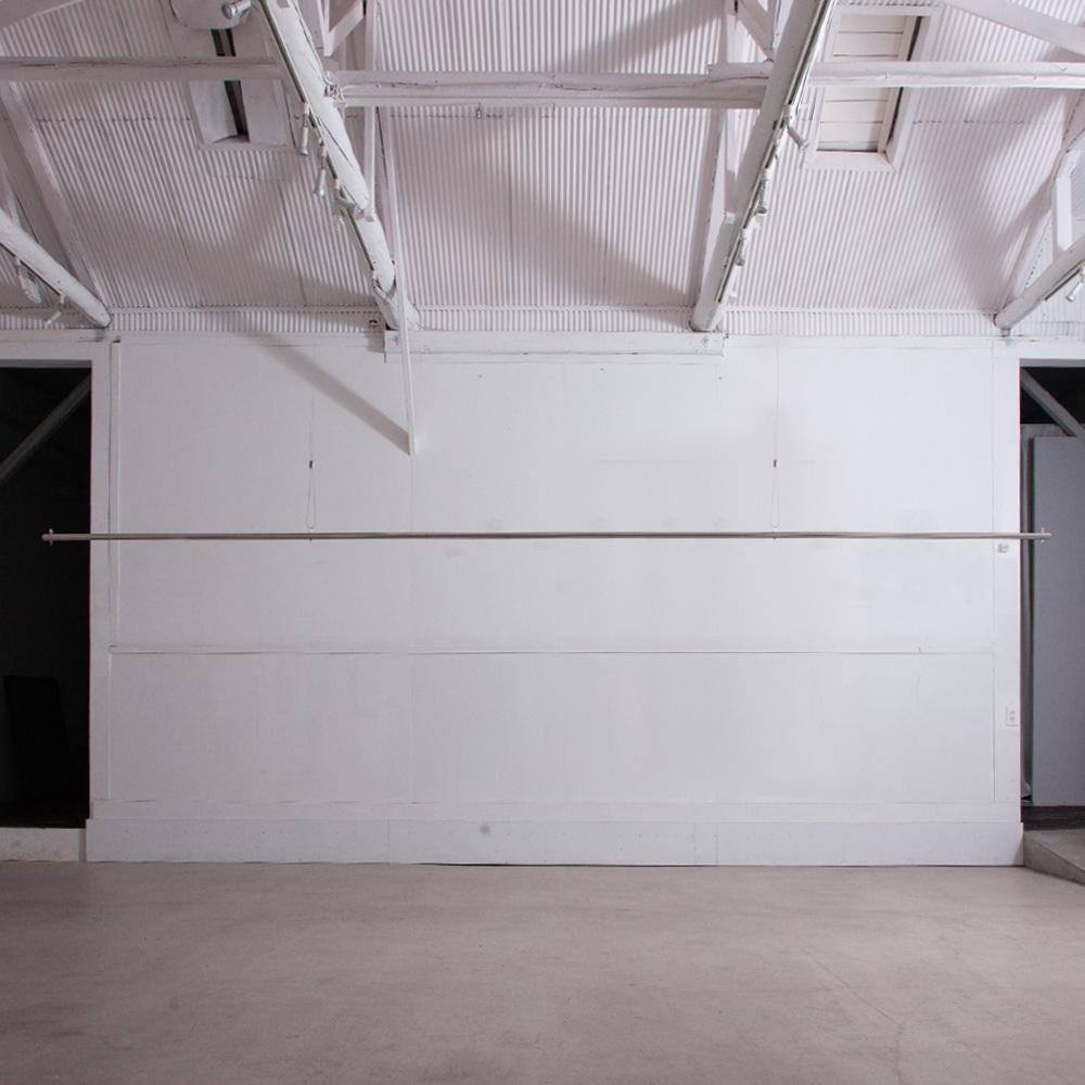 4m Suspended Hanger Rack in Stainless Steel