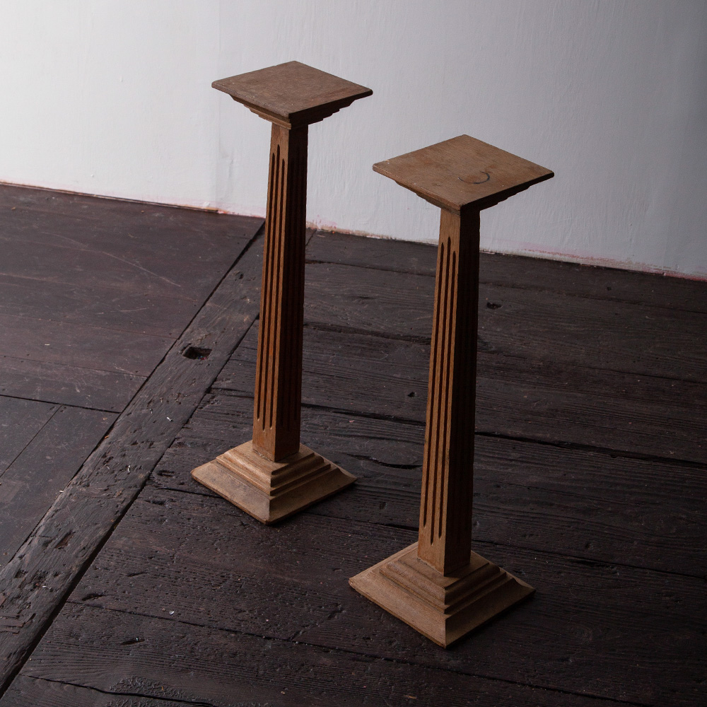 Display Stand in Oak