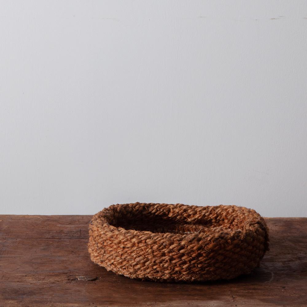 Vintage Basket in Rope