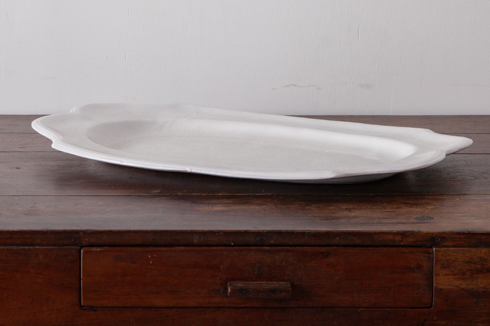Antique Huge Plate for BIOT