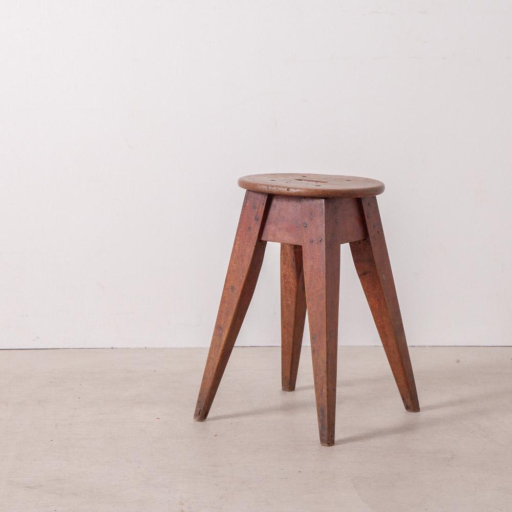 Vintage Stool in Wood