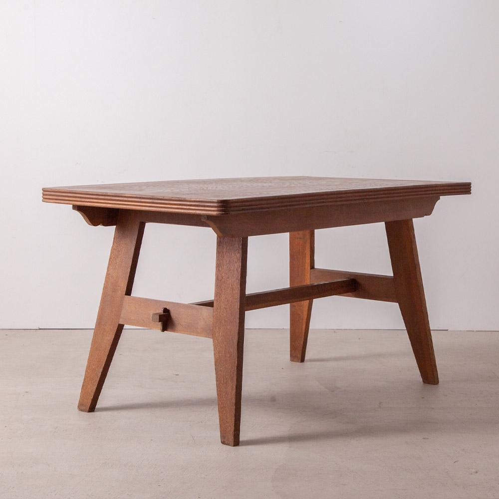 Dining Table in Oak by René Gabriel