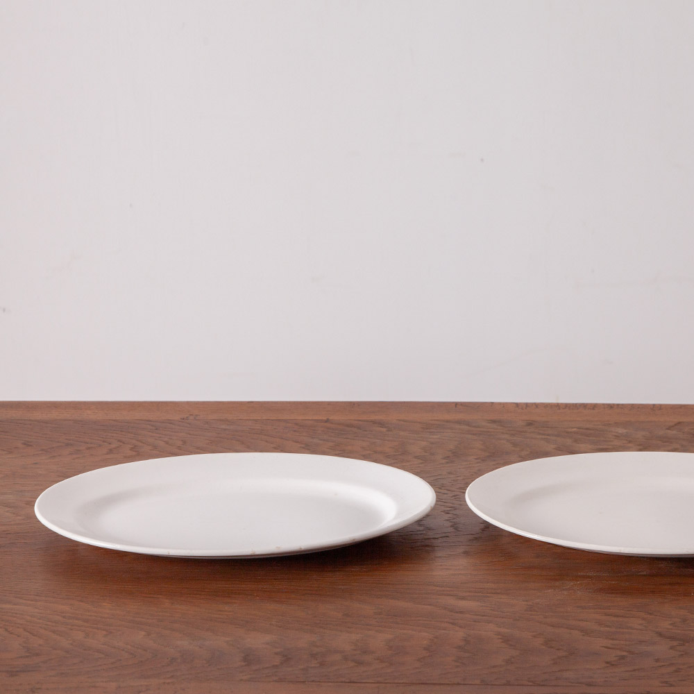 Antique Oval Dish in White for BOCH