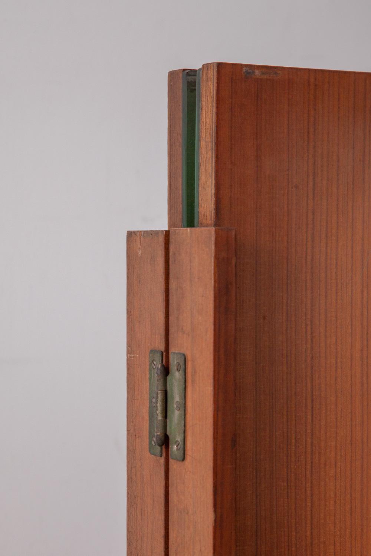 Vintage Folding Trifold Mirror