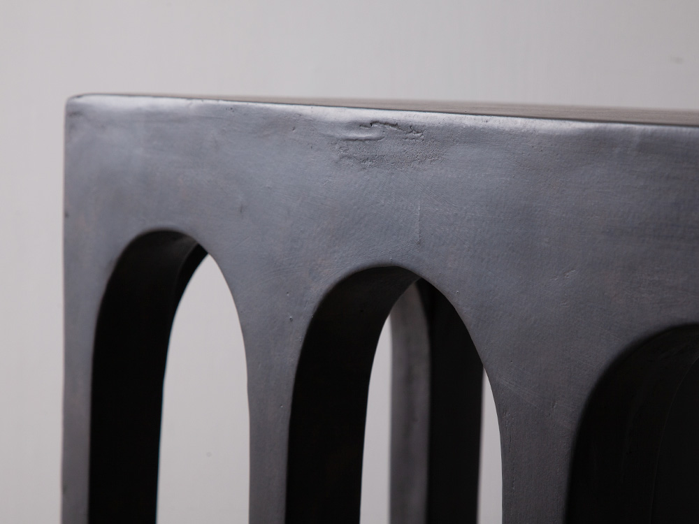 Eight Legs Console Table in Fiber Concrete