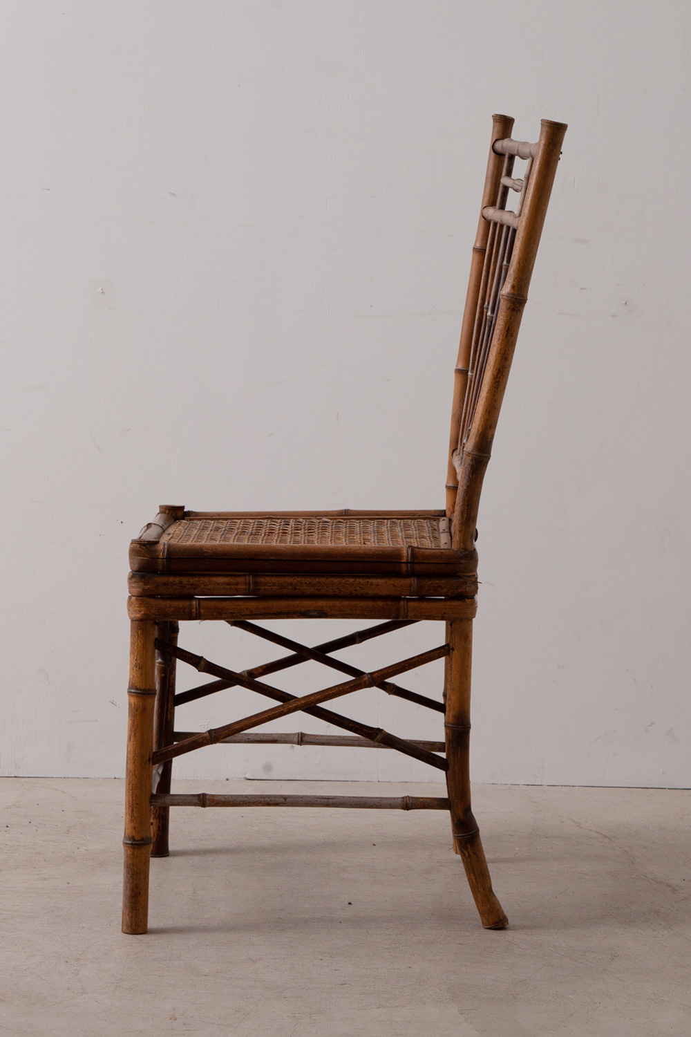 Antique Chair in Bamboo