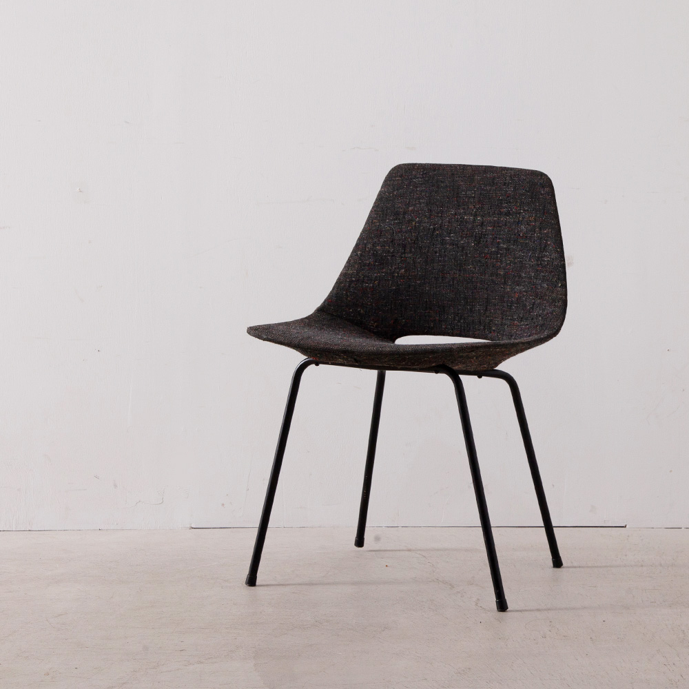 Amsterdam Chair in Fabric by Pierre Guaariche