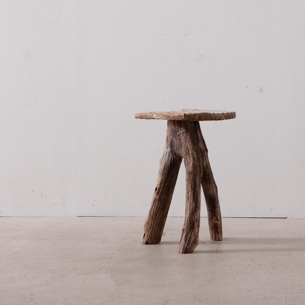 Driftwood Stool by Osamu Miura