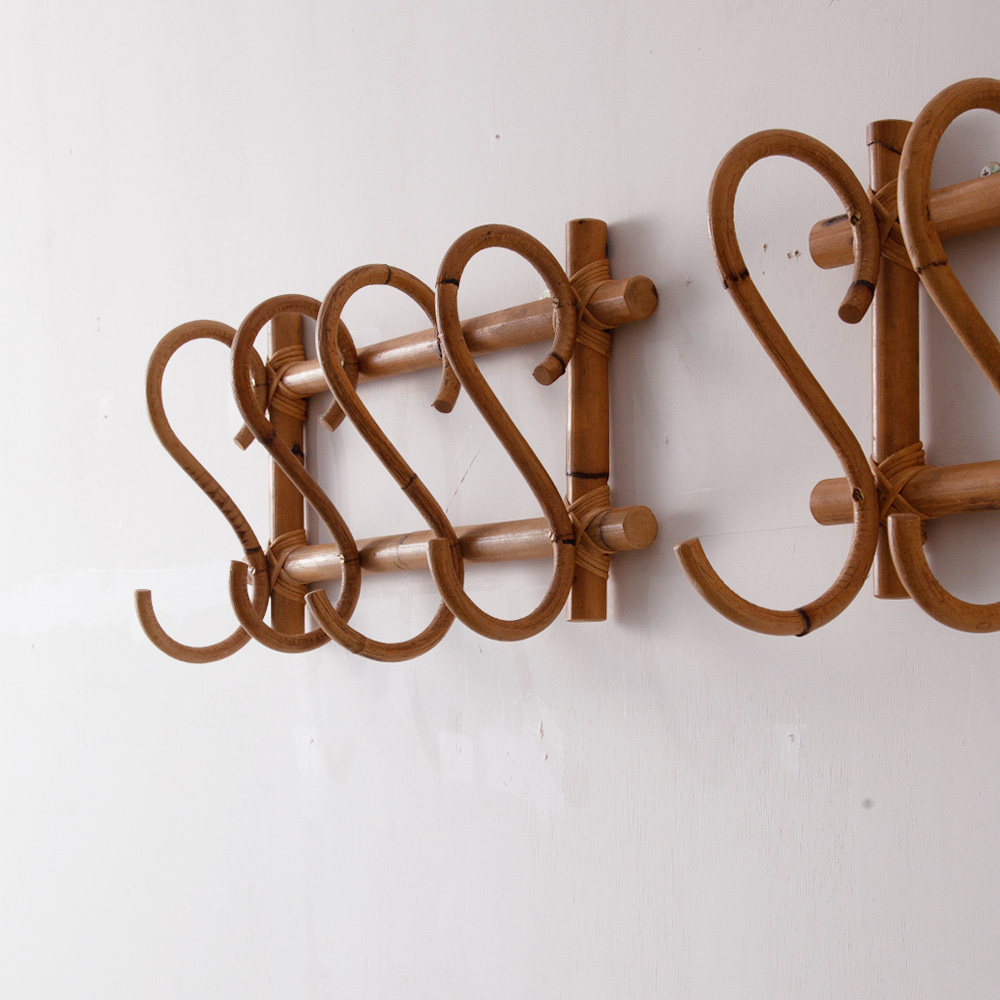 Vintage Wall Hook in Bamboo