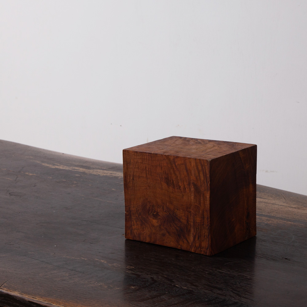 Wooden Cube Object