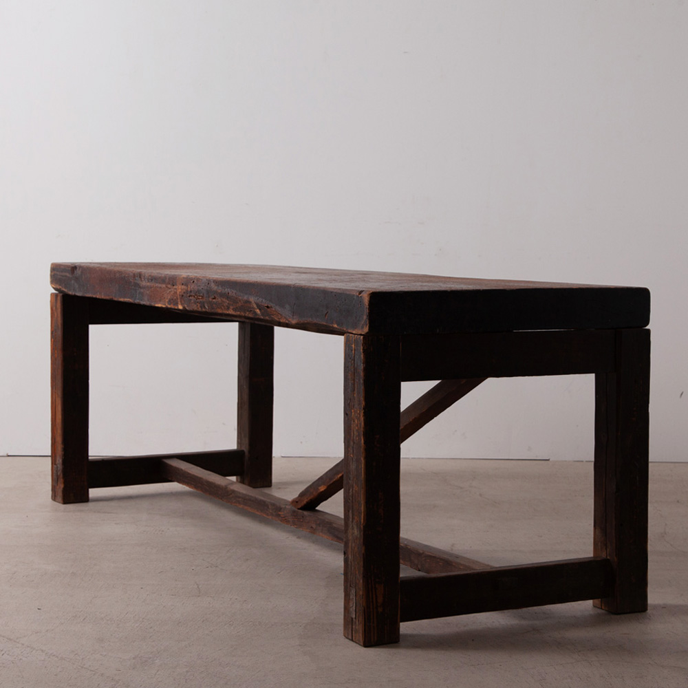 Antique Work Table in Wood
