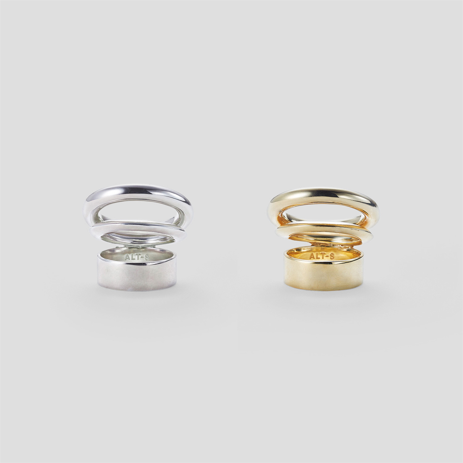 Stack Circle Ring by ALT-S