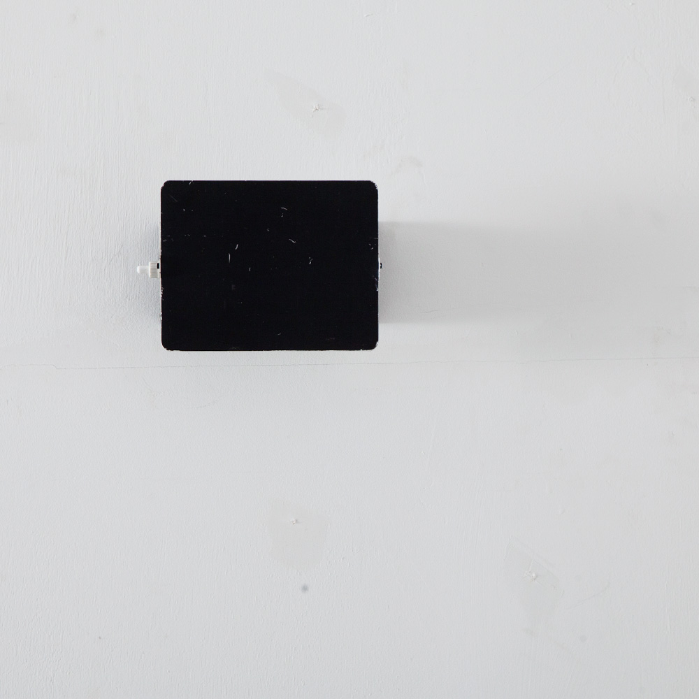 CP1 Wall Light in Black by Chalrotte  Perriand