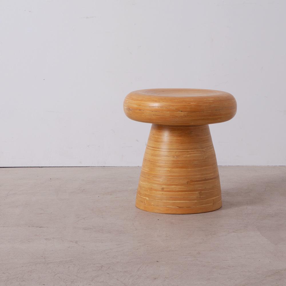 Mushroom Stool in Bamboo