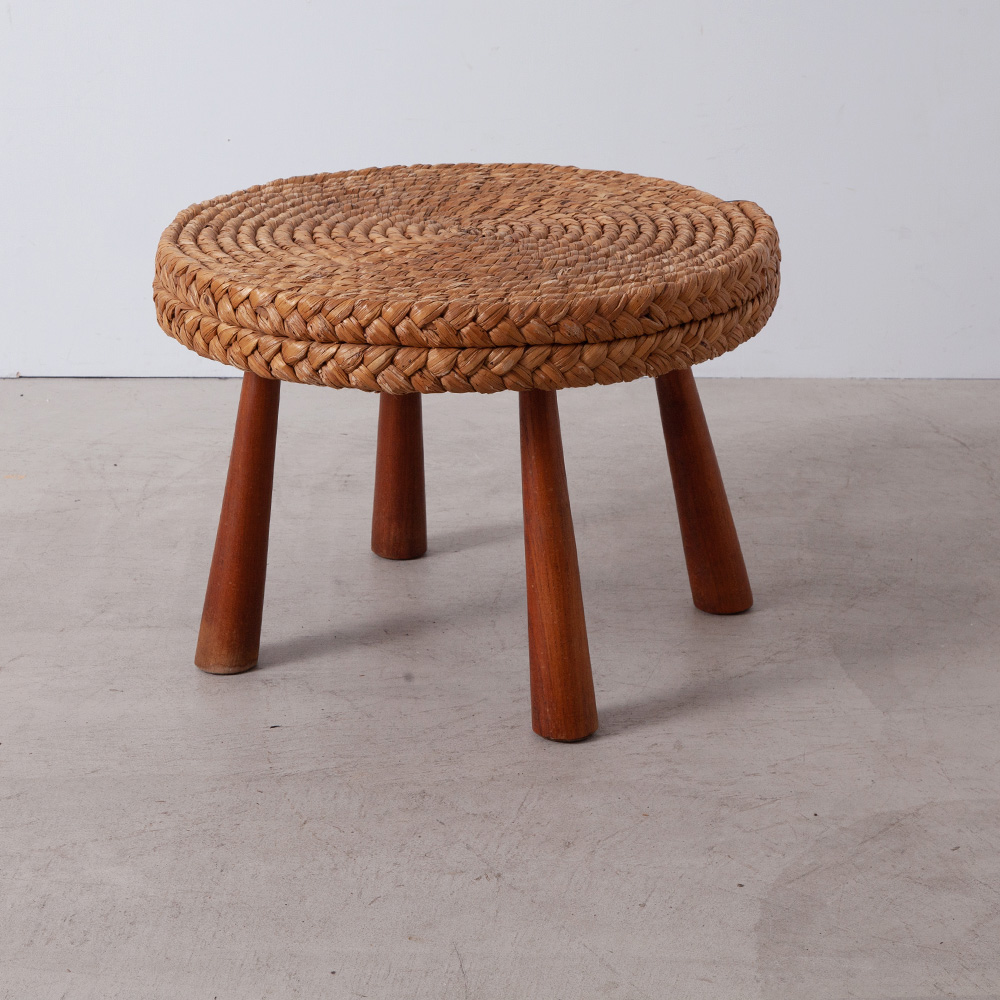 Round Coffee Table by Audoux Minet
