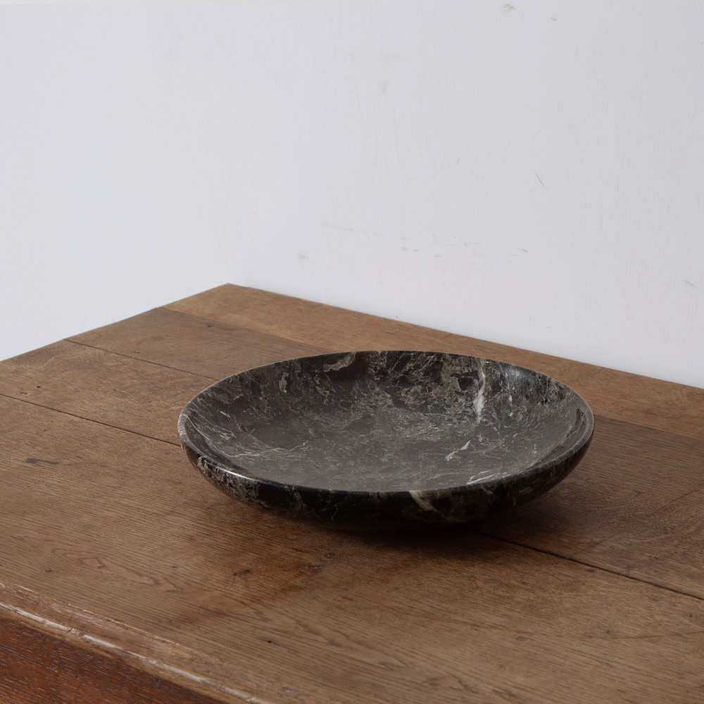 Marble Plate in Black