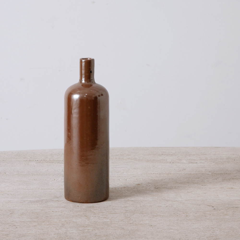Antique Sider Bottle in Brown