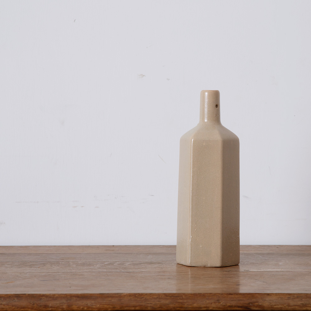 Antique Sider Bottle in Gray