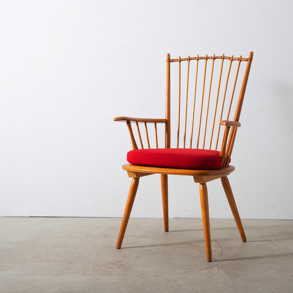 Arm Chair by Albert Haberer for Hermann Fleiner