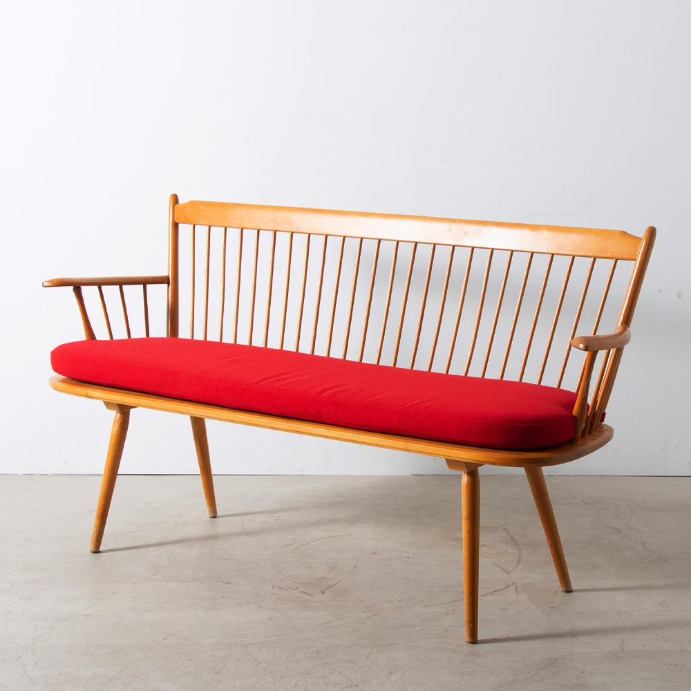 Bench by Albert Haberer for Hermann Fleiner