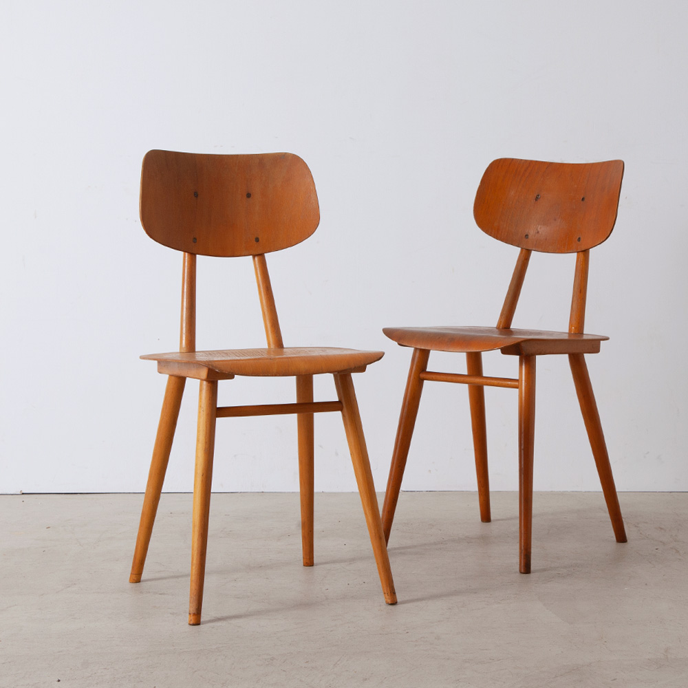 Vintage Chair in Wood for TON