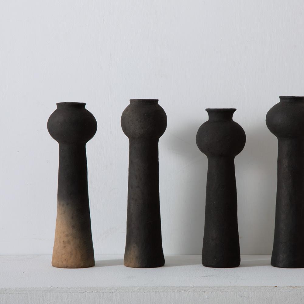 Onion Head Vase by Taro Tanaka