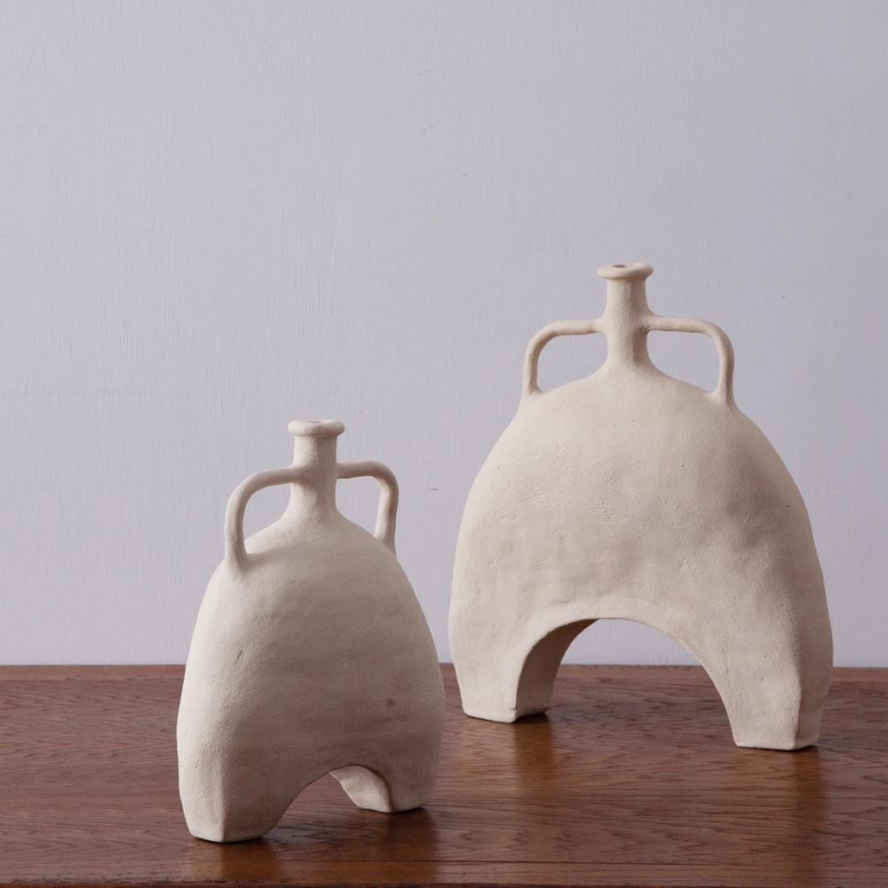 Hand Craft Vase in Stone Ware by Luna Mara