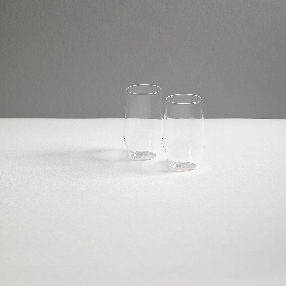 """VINO Glass """"VELASCA"""" for R+D.LAB in Clear"""