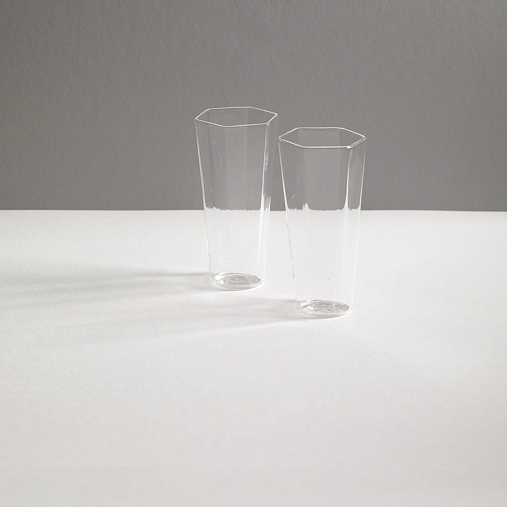 """BEVANDA Glass """"NINI"""" for R+D.LAB in Clear"""